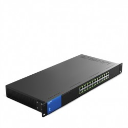 GIGABIT SWITCH 24 CỔNG LINKSYS LGS124P-AP 10/100/1000Mbps